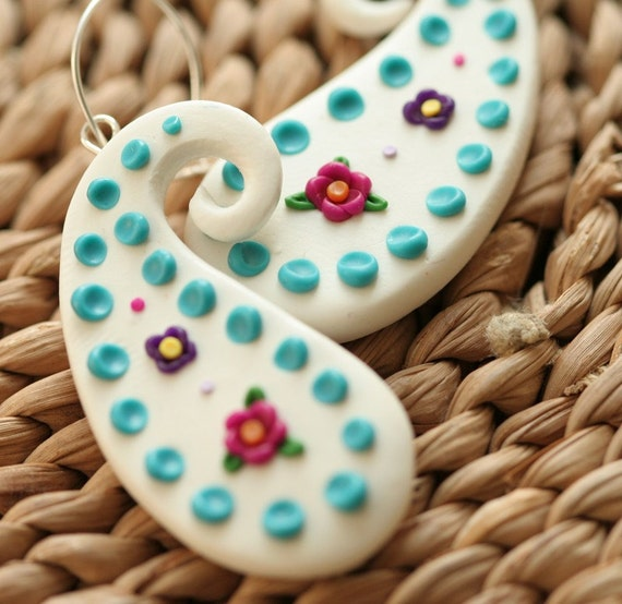 Cinco De Mayo Paisley Earrings