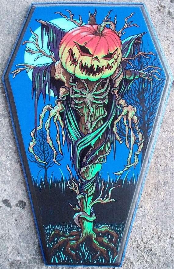 Pumpkin Coffin