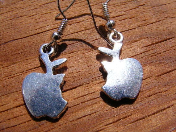 Earrings Silver Apples