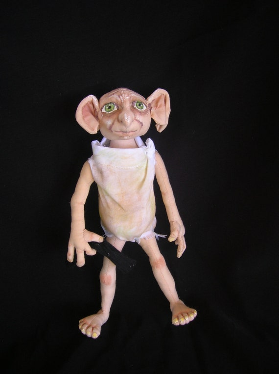 Dobby OOAK cloth doll