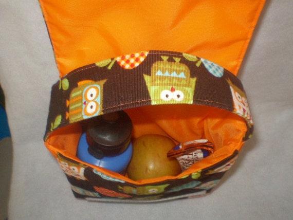 Ready to Ship Cotton/Nylon Reusable Lunch Bag