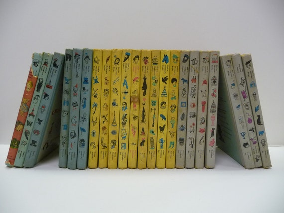 Lot of 22 Vintage hardcover books  1950's-60's Best in Children's Books collection