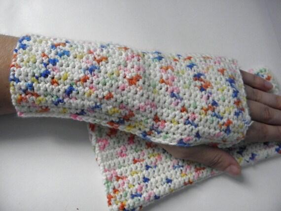 Fingerless soft crocheted wire