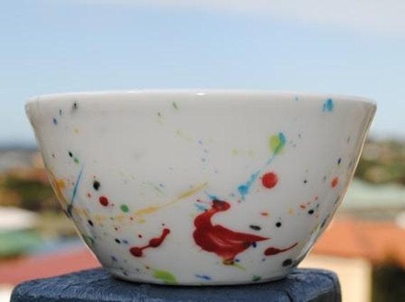 Porcelain Bowl - Fireworks Series