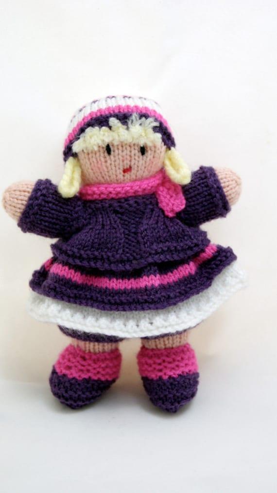آنهایی که کوچولو -- دستباف 7 اینچ عروسک بافتنی