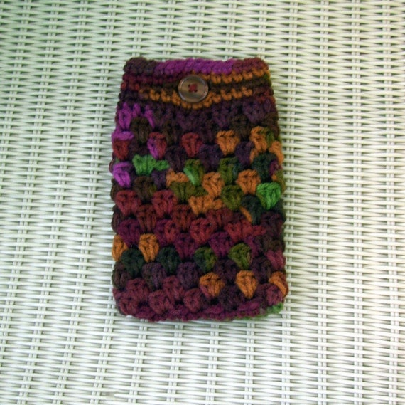Crocheted Pouch MP3, Cell Phone, Etc
