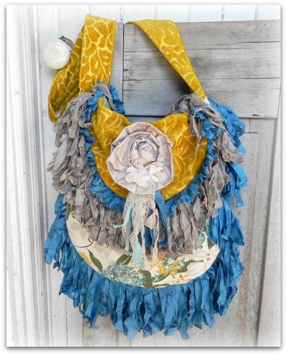 Prairie Carpet Bag Couture - estilo Gypsy Vagabond