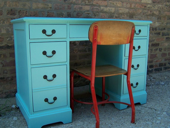 Jamaica Blue Desk from 1954