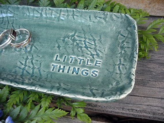 Porcelain Little Things Tray