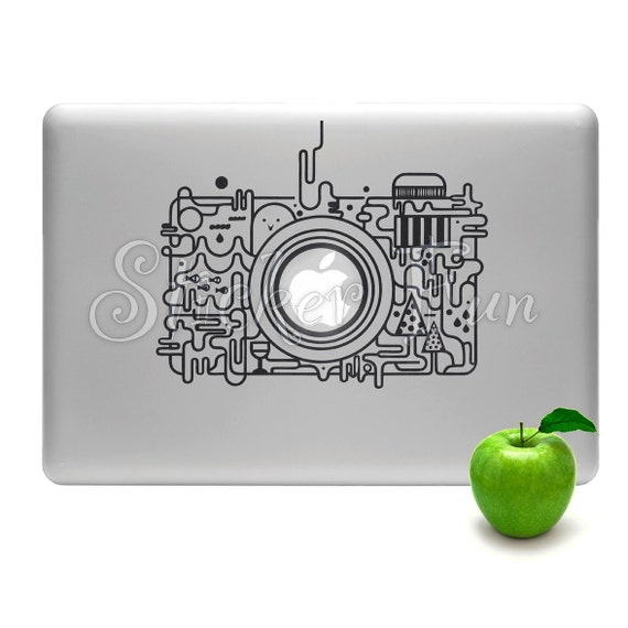 Camera-Geeky-photography lover Macbook /any laptop decal vinyl