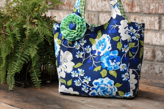 Ava Rose tote PDF sewing pattern