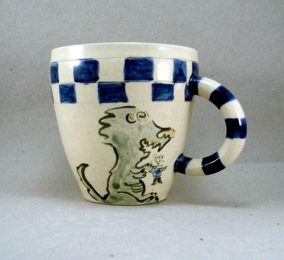 godzilla-type mug