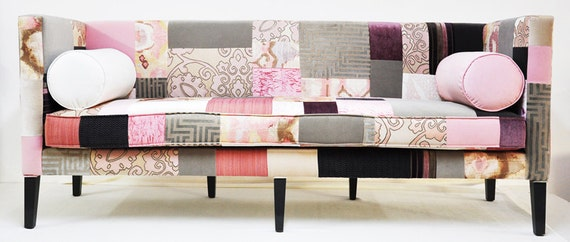 box sofa patchwork