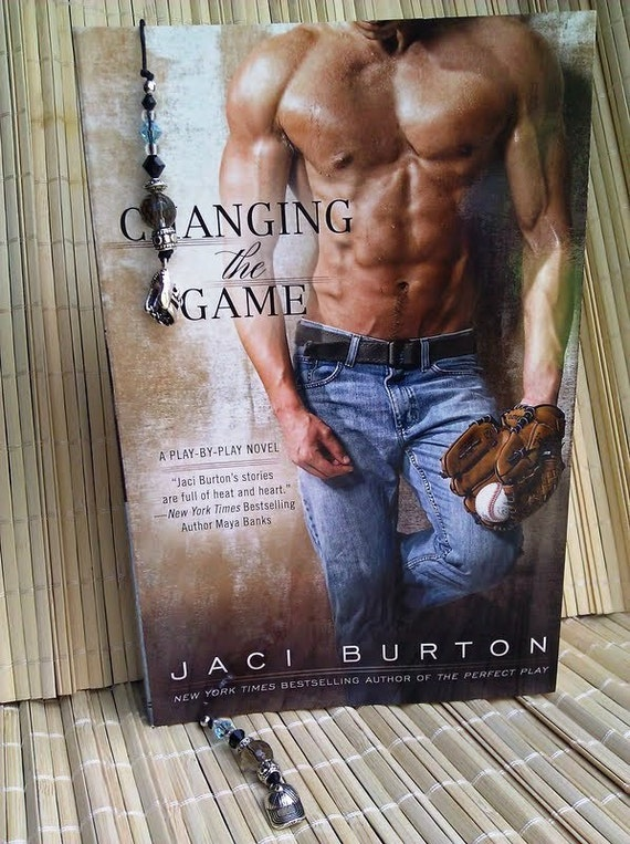 Changing the Game (Gavin Riley) Book Thong - Hand Beaded Bookmark