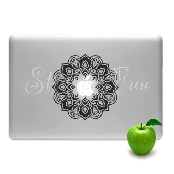 Floral Graphic Design -Unity and harmony-Macbook /any laptop decal vinyl