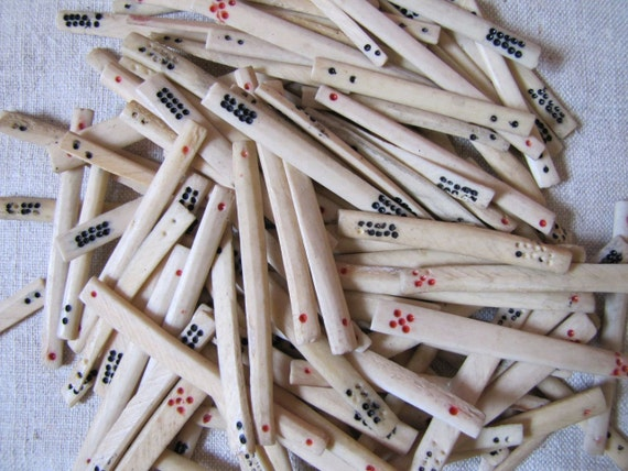 Bone Counting Stick
