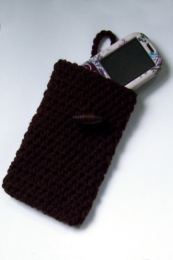 Smart Phone , MP3 Case Pouch Brown