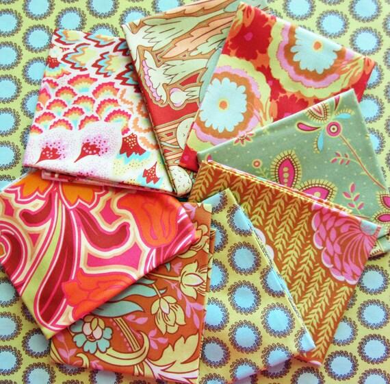 Amy Butler Soul Blossoms Fabric - 8 Fat Quarters, SALE