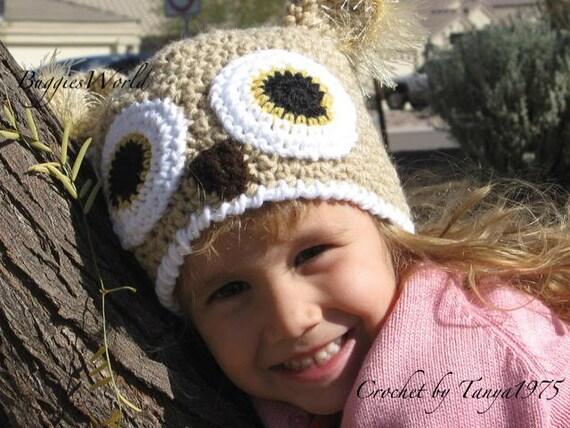 قبعات كروشيه روعة للاطفال..... il_570xN.269103640.j