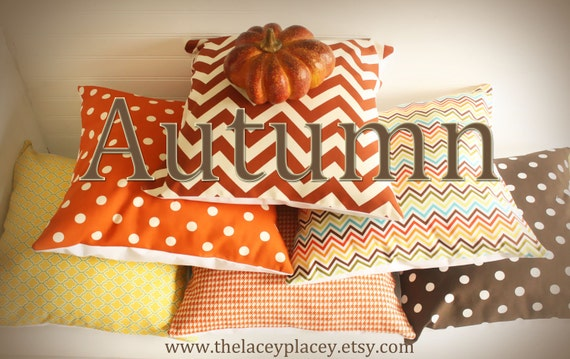 Sweet Potato Polka Dot Pillow Cover 18x18