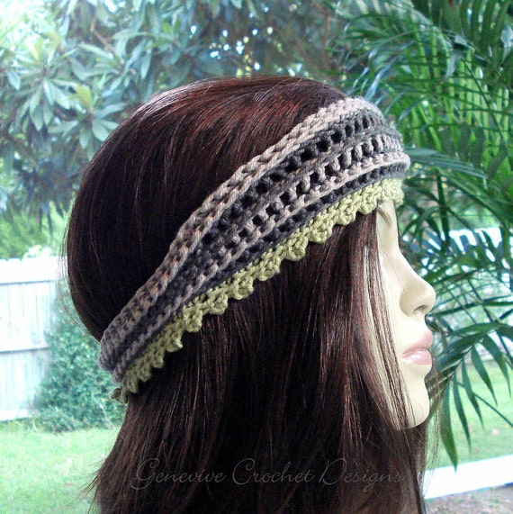 Genevive Crochet: New Crochet Headbands Pattern Free Download