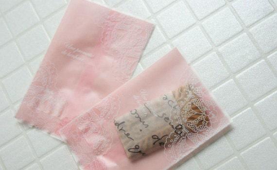 Elegant Pink Sweet Bags - S