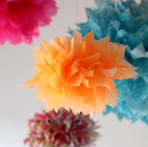 Flower Balls - Circus Parade Collection - Set of 6 Flowers