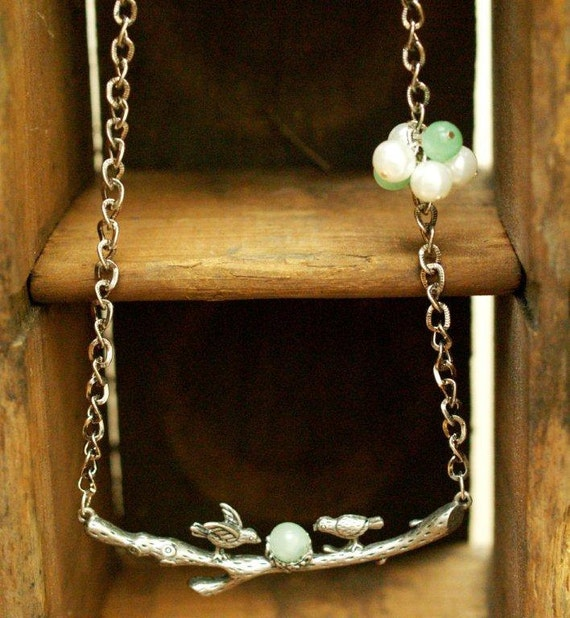 Sweet Little Birds Necklace