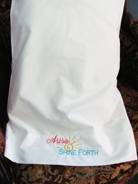 LDS 2012 Mutual Theme Pillowcase
