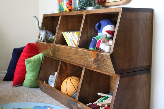 Permalink to build your own toy bin organizer