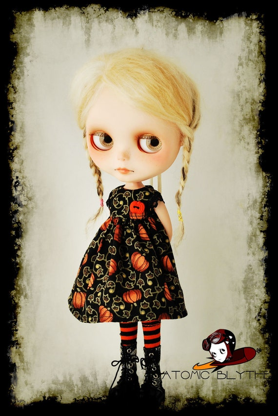 Atomic Blythe Halloween Dress CLEARANCE