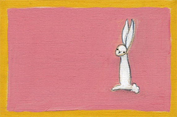 sunday bunny ORIGINAL