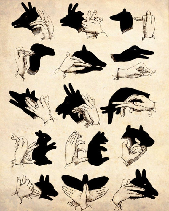 "����������� Vintage ""Shadow Puppets"" �������� ������ ������"
