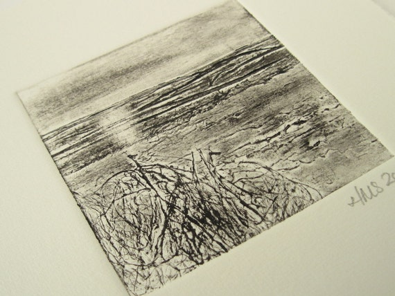 Original Collagraph Print