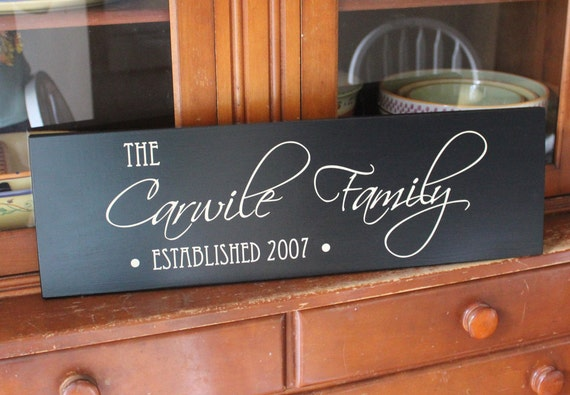 The Farm House - Custom Personalized Family Name Wood Sign