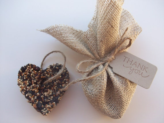 75 Bird Seed Favors - Wedding favor