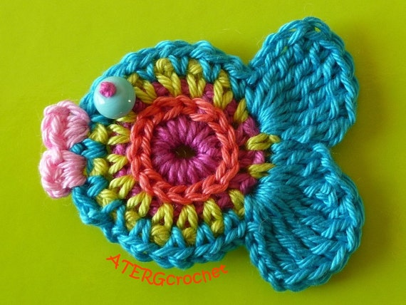 Fish crochet pattern by ATERG.crochet