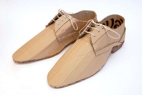 Cardboard Smart Shoes (quavers)
