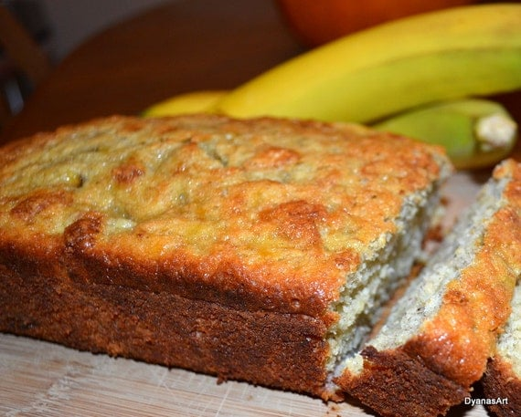 Gluten and Dairy Free Banana Bread