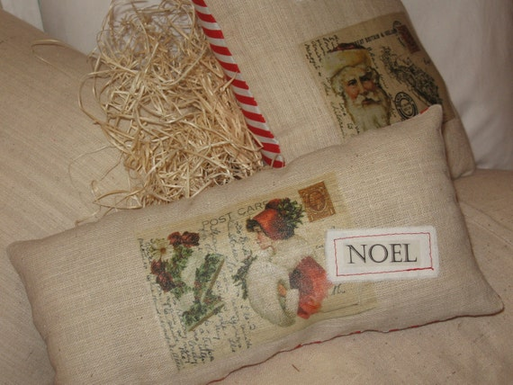 Christmas Pillows - Decorative, Accent, Novelty, Set Of Two
