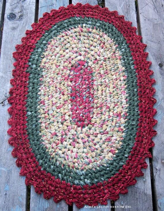 Oval Crochet Rug Crochet For Beginners
