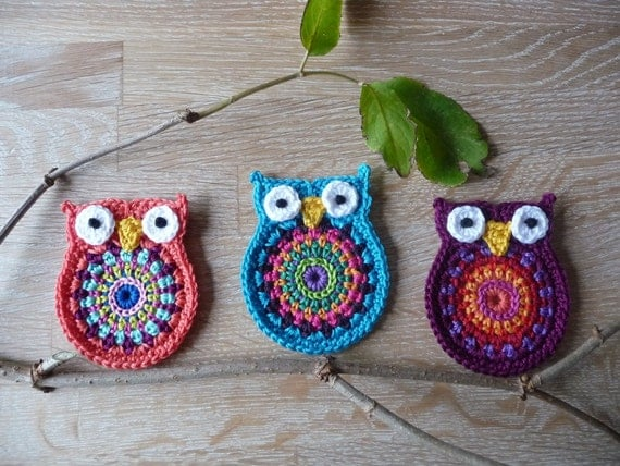 Crochet pattern owl 'big brother' by ATERG.crochet
