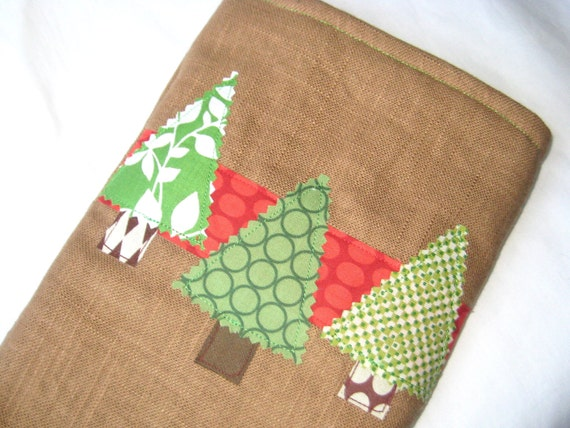 Christmas Stocking - We Three Trees Linen