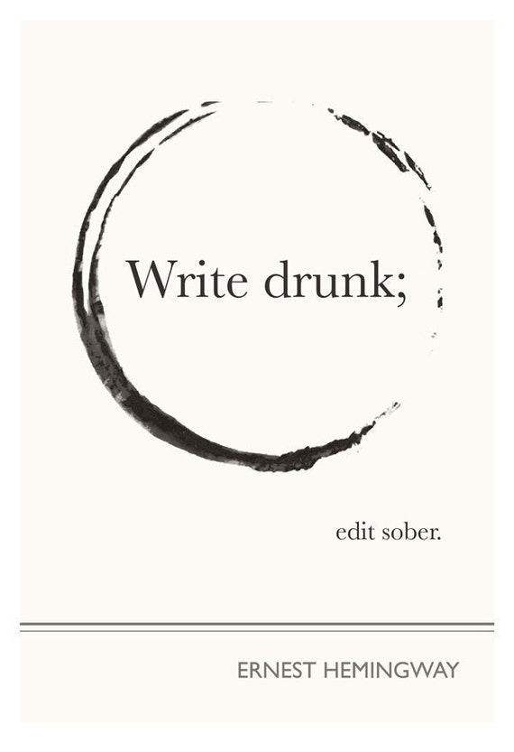 write high edit sober