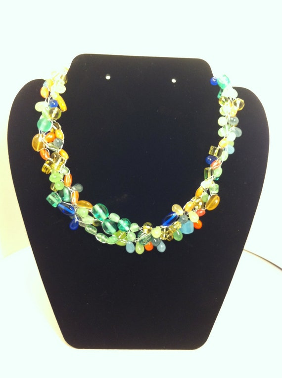 Choker in Spring Colors