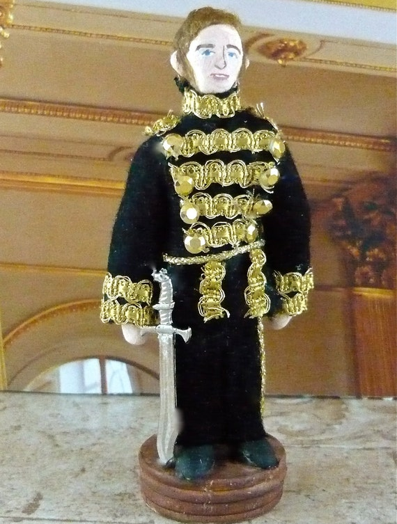 Phantom of the Opera Doll Raoul Miniature Art Character