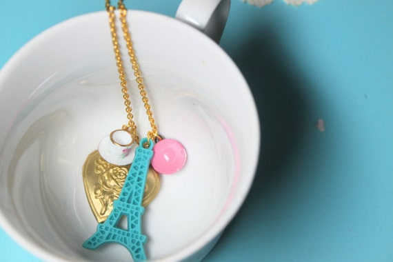 Tea in Paris Locket Necklace