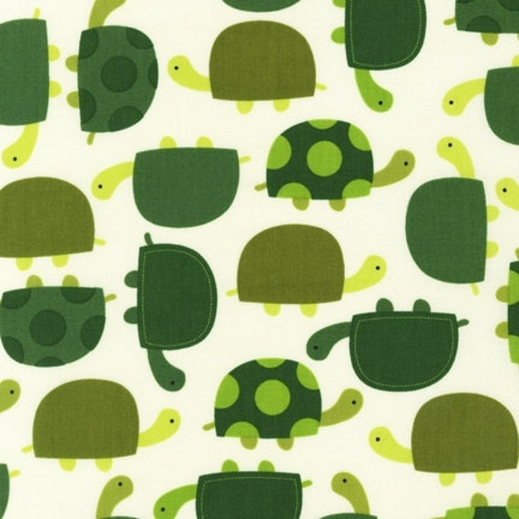 Fat Quarter of TURTLE Fabric From Robert Kaufman