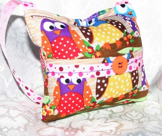 Sweet Owls Tooth Fairy Pillow - Jenny Looms
