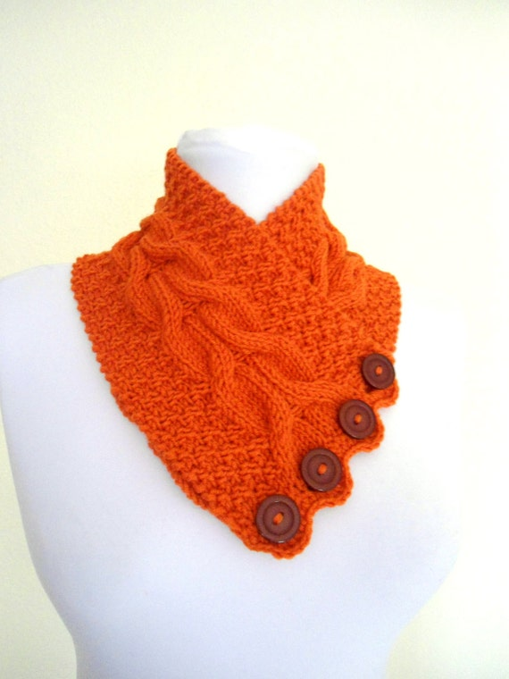 new Tangelo neckwarmers, autumn, wool, hand-knitted,fashion,gift